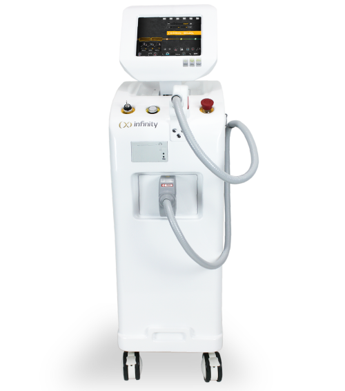 infinity is a 808nm diode laser hair removal machine